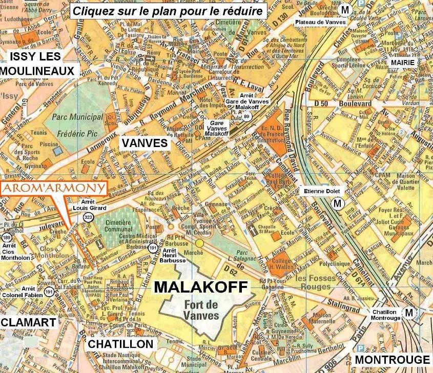 Aromarmony - Massage de bien-��tre �� Malakoff, Chatillon.